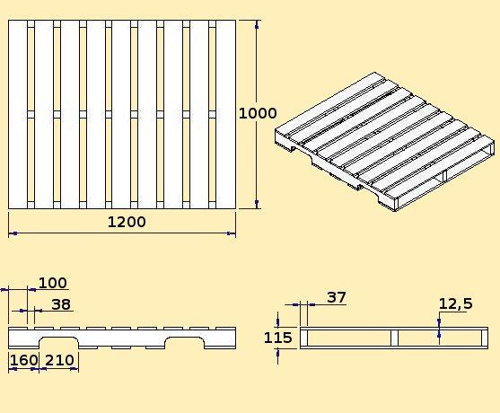 Parihuelas de madera - Cuanto cuesta un palet de madera ...